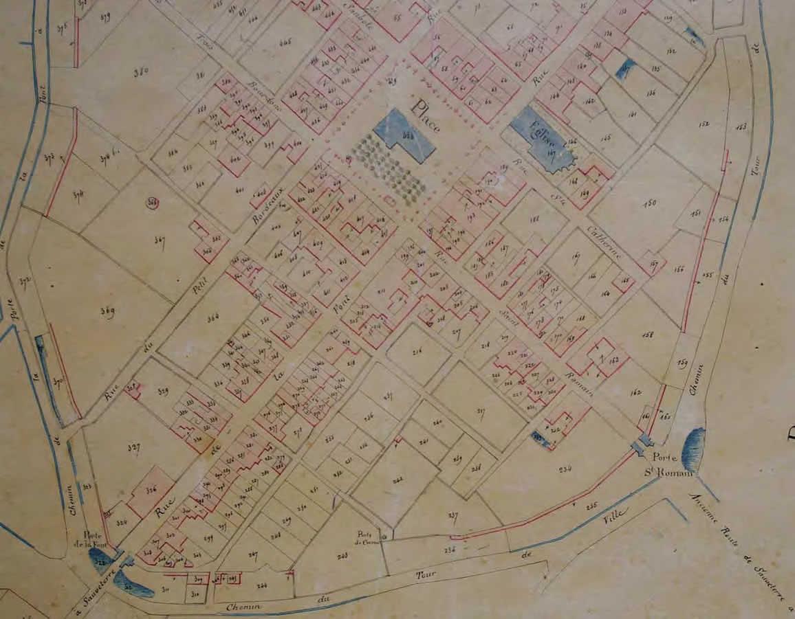 Cadastre Napoléonien Archives municipales - Sauveterre-de-Guyenne