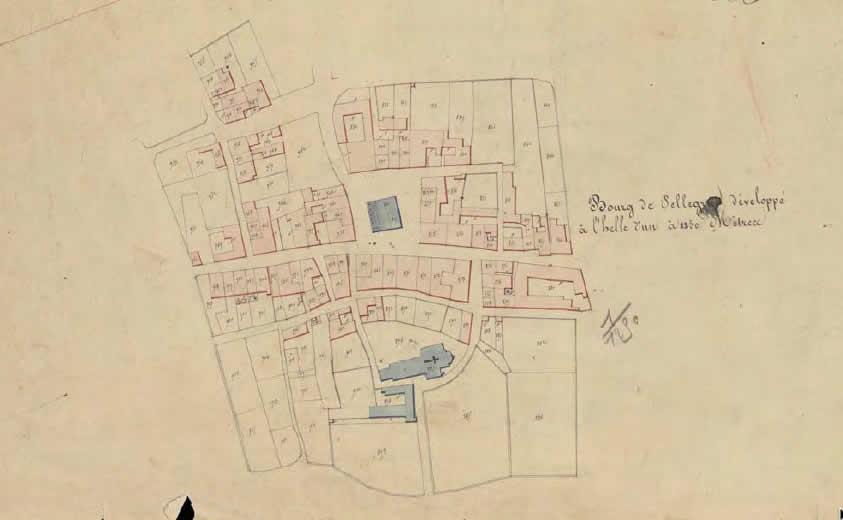 Cadastre napoléonien Archives Départementales de la Gironde
