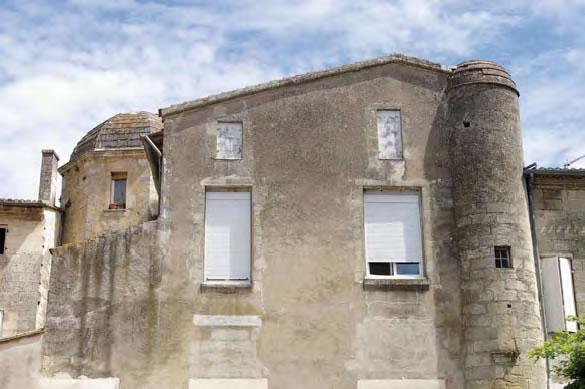 Hôtel de Canolle, rue des Chais - Libourne