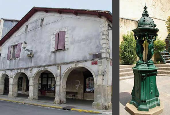 Maison du XVIIe siècle, 1, place de la Prévôté - Créon et Fontaine Wallace