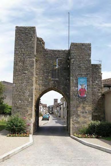 Porte Lafon - Sauveterre-de-Guyenne