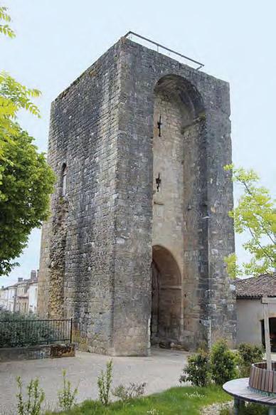 Porte Saubotte - Sauveterre-de-Guyenne