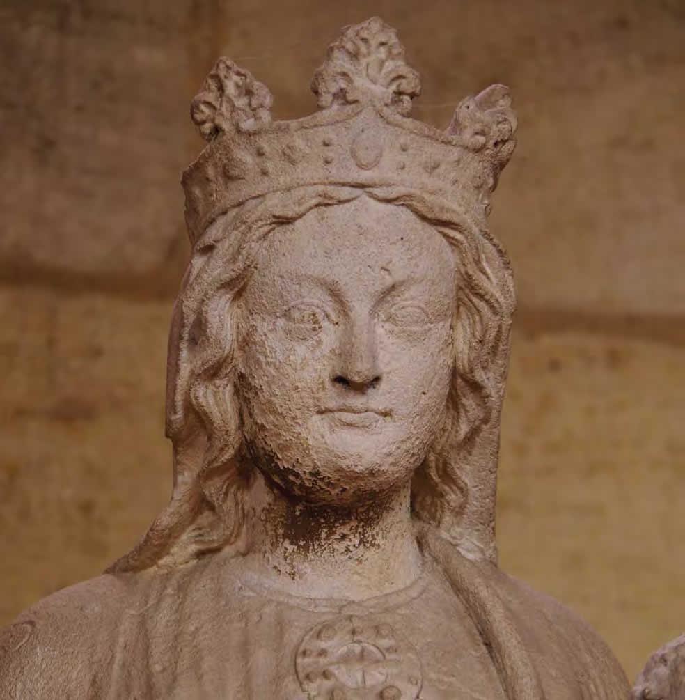 Vierge à l'Enfant, XIIIe siècle, église de Créon