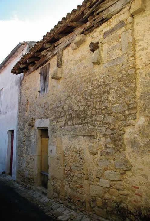 Maison ancienne rue du Docteur Fontès