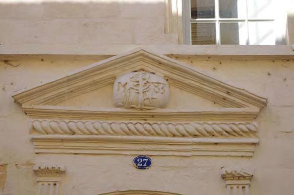 Porte XVIe siècle, rue Victor Hugo-Sainte-Foy-la-Grande