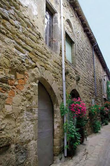 Portes du XIIIe siècle, ruet du Soleil - Monségur